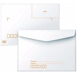 Envelope Carta C/Rpc 114Xmm162Mm Branco