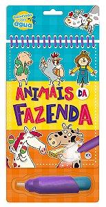 Livro Aquabook Animais Da Fazenda Ciranda Cultural