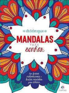 LIVRO DE COLORIR MANDALAS PARA SONHAR CIRANDA CULTURAL