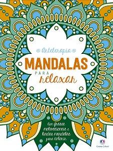 LIVRO DE COLORIR MANDALAS PARA RELAXAR CIRANDA CULTURAL