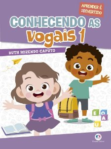 Livro Conhecendo As Vogais 1 Ciranda Cultural