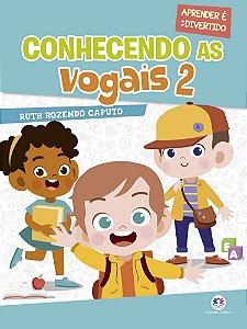 Livro Conhecendo As Vogais 2 Ciranda Cultural
