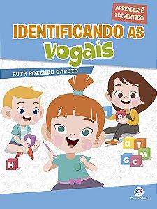 Livro Identificando As Vogais Ciranda Cultural