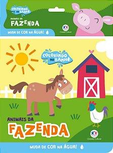 Livro Banho Animais Da Fazenda Ciranda Cultural