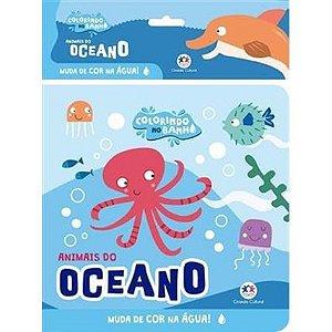 Livro Banho Animais Do Oceano Ciranda Cultural