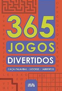 Livro 365 Jogos Divertidos Ciranda Cultural
