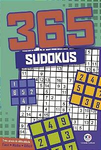 Sudokus 365 Tres Niveis De Dificuldade Ciranda Cultural