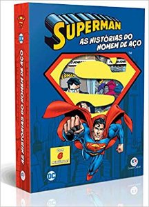 MINIBOX SUPER HOMEM - AS HISTORIAS DO HOMEM DE ACO - 6 MINILIVROS CIRANDA CULTURAL