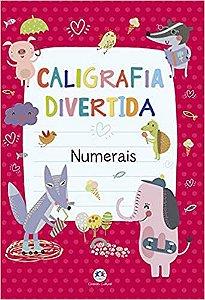 Livro Caligrafia Divertida Numerais Ciranda Cultural