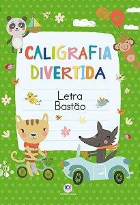 Livro Caligrafia Divertida Letra Bastao Ciranda Cultural