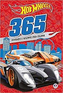 Livro Hot Wheels - 365 Atividades E Desenhos Para Colorir Ciranda Cultural