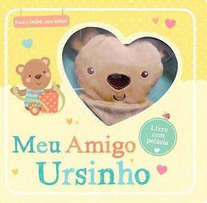 Livro Com Pelucia Meu Amigo Ursinho Ciranda Cultural