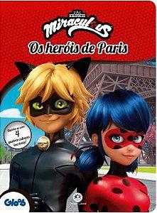 Livro Quebra Cabeça Ladybug - Os Herois De Paris Ciranda Cultural