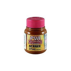 TINTA PVA FOSCA 37ML MARROM (531) ACRILEX