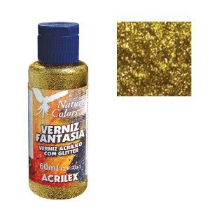 Verniz Fantasia 60Ml Ouro (201) Acrilex