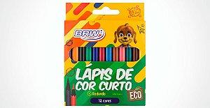 Lapis De Cor Curto 12 Cores Brw