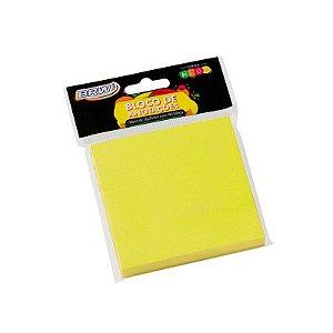 Bloco Smart Notes Amarelo Neon 100F 76X76Mm Brw