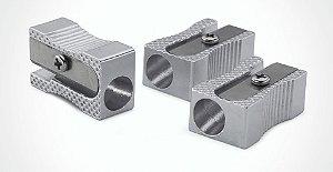 Apontador De Metal Retangular Brw