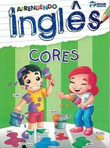 Livro Aprendendo Ingles Cores Bicho Esperto