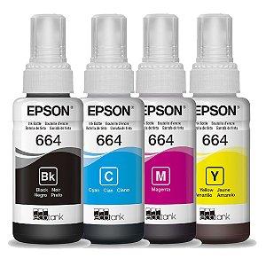 Tinta T664 P/ Impressora 70Ml Epson