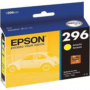 Cartucho De Impressora 296 Amarela Epson