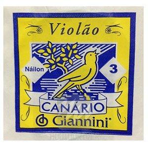 Corda De Nylon P/ Violão Giannini