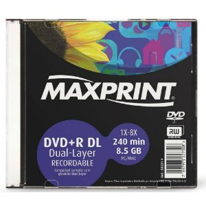 Dvd-R Recordable 120Min 4.7Gb Maxprint