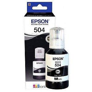 Tinta T504 Preta P/ Impressora 127Ml Epson