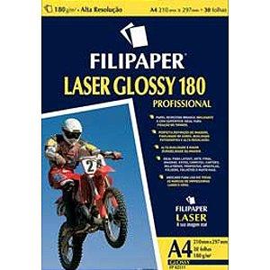 Papel Filipaper Laser Glossy 180G A4  Filiperson