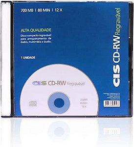 Cd-Rw 80Min 700Mb Cis