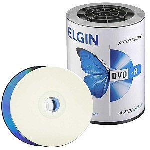 Dvd-R Imprimível 120Min 4.7Gb Elgin