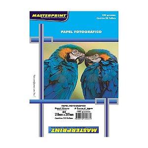 Papel Fotográfico Glossy A4 180G Pct C/20 Masterprint