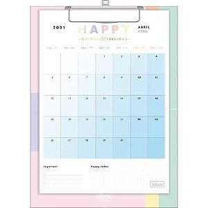 Calendario Planner Prancheta Happy 2021 Tilibra
