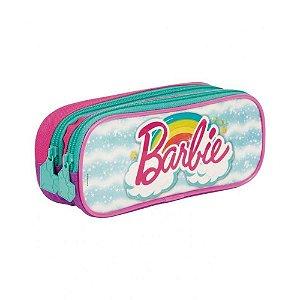 Estojo Escolar Duplo Barbie Dreamtopia Sestini
