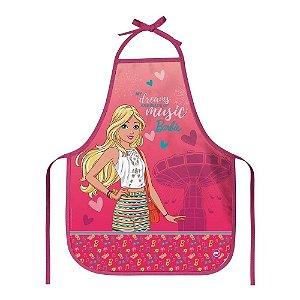 Avental Escolar Barbie 39X49Cm Dac