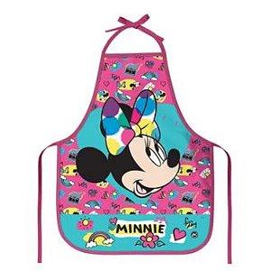 Avental Escolar Minnie 39X49Cm Dac