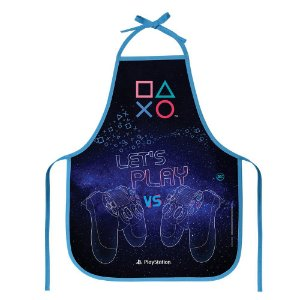 Avental Escolar Playstation 39X49Cm Dac