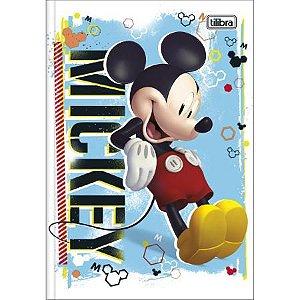 Caderno Brochura 1/4 48F Mickey Mouse Capa Sortida Tilibra