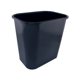 Cesto De Lixo Preto 12,5Lts Dello