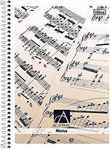 Caderno Espiral Musica Grande 96F Tilibra