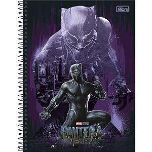Caderno Universitário 1 Matéria 80F Black Panther Capa Sortida Tilibra