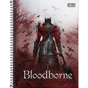Caderno Universitário 1 Matéria 80F Bloodborne Capa Sortida Tilibra