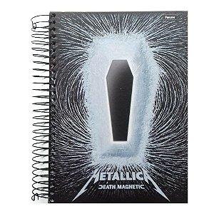 Caderno Universitário 15 Matérias 300F Let'S Rock Capa Sortida Foroni