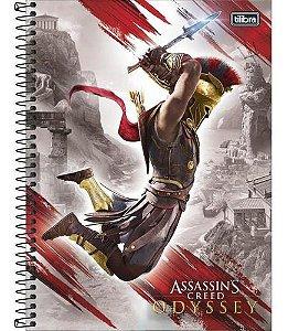 Caderno Universitário 16 Matérias 256F Assassin'S Creed Odyssey Capa Sortida Tilibra