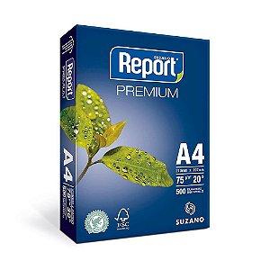Papel Oficio 75G Report Premium A4 C/500 Folhas