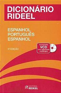 Dicionario Espanhol/Portugues Com Cd 3ª Rideel