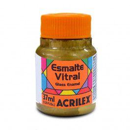 Esmalte Vitral 37Ml Ouro (532) Acrilex