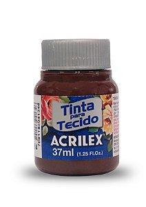 TINTA TECIDO FOSCA 37ML TERRA QUEIMADA (514) ACRILEX