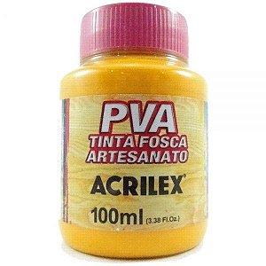 TINTA PVA FOSCA 100ML AMARELO CADMIO (536) ACRILEX