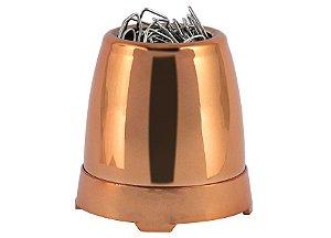 Porta Clipes Metalizado Waleu